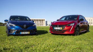 Renault Clio vs Peugeot 208 3