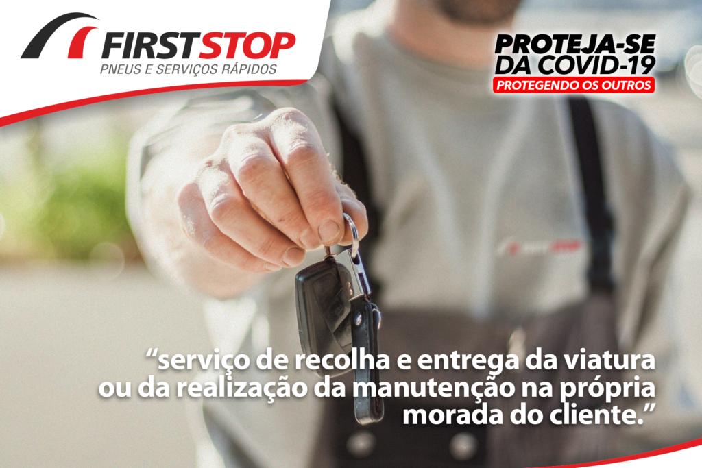 FirstStop Serviço de recolha