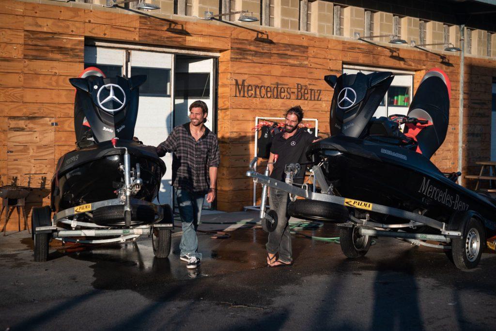Mercedes-Benz Surfing Lounge