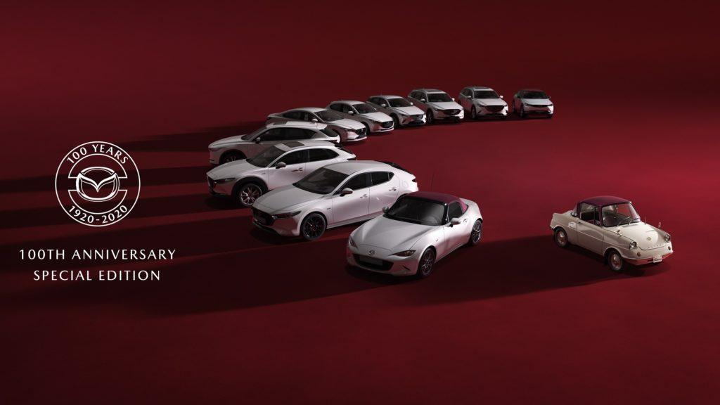 Mazda Edição Especial 100º aniversário 1 1