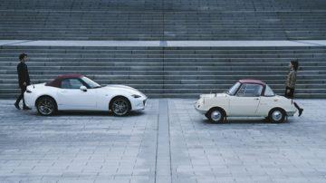 Mazda mx 5 100th anniversary mazda R360 Coupé