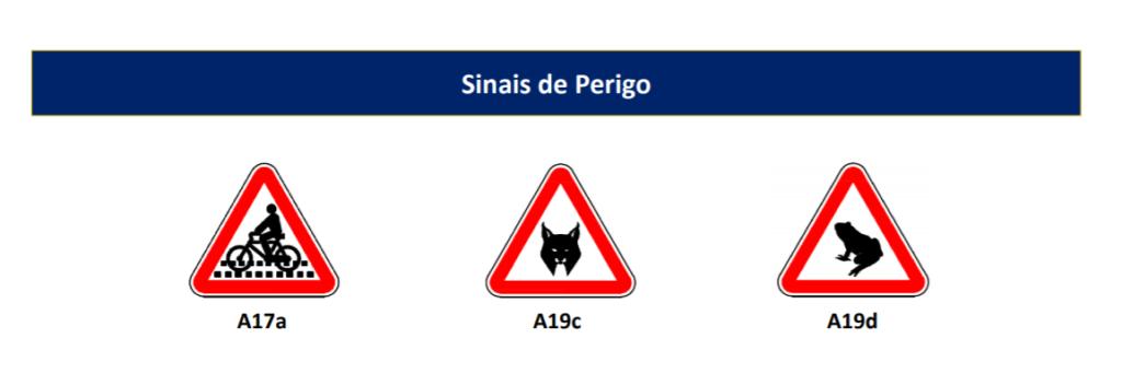 Perigo nova sinalização