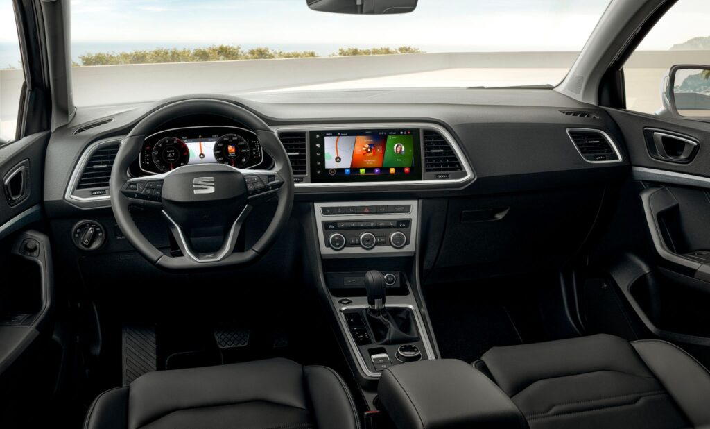 Interior do novo Seat Ateca