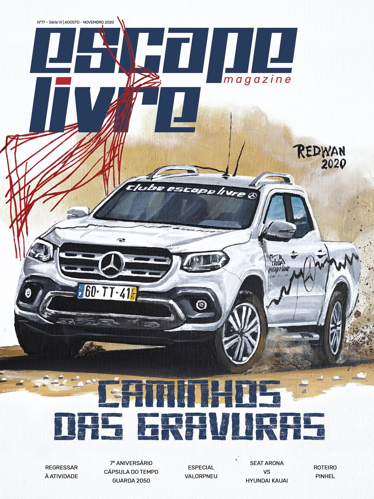 Capa Escape Livre Magazine 77