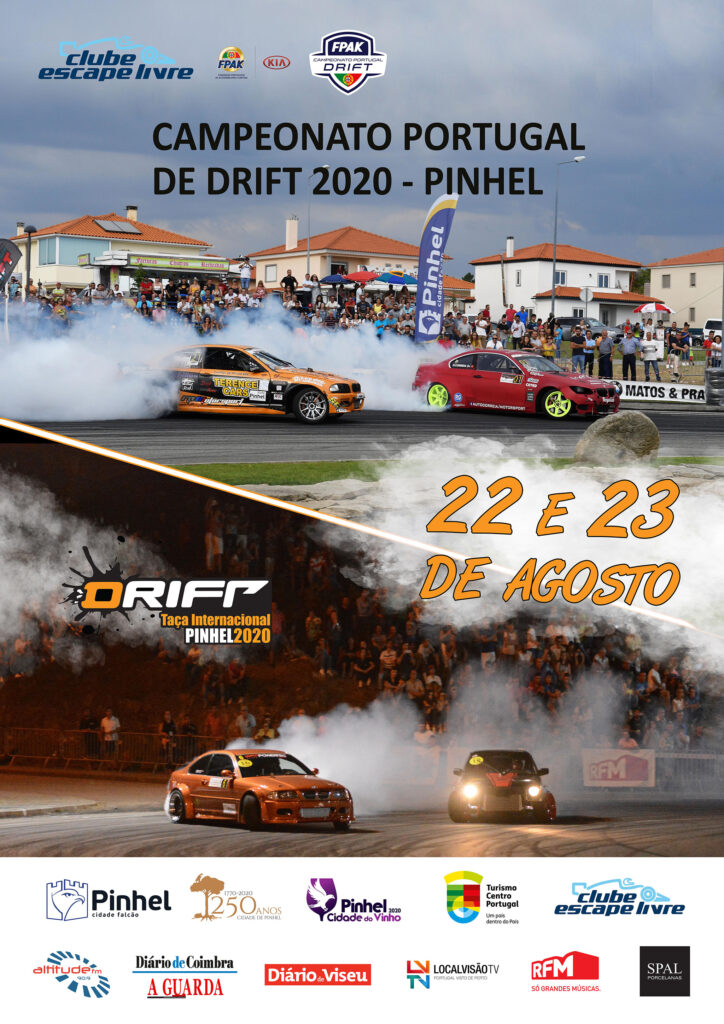CARTAZ DRIFT PINHEL 2020