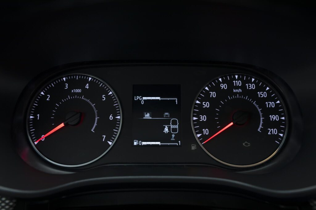 Dacia Sandero 2020 painel