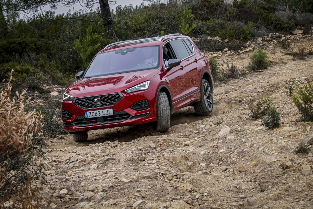 SEAT Tarraco 2020 offroad 2