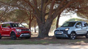 Fiat Panda vs Suzuki Ignis 9