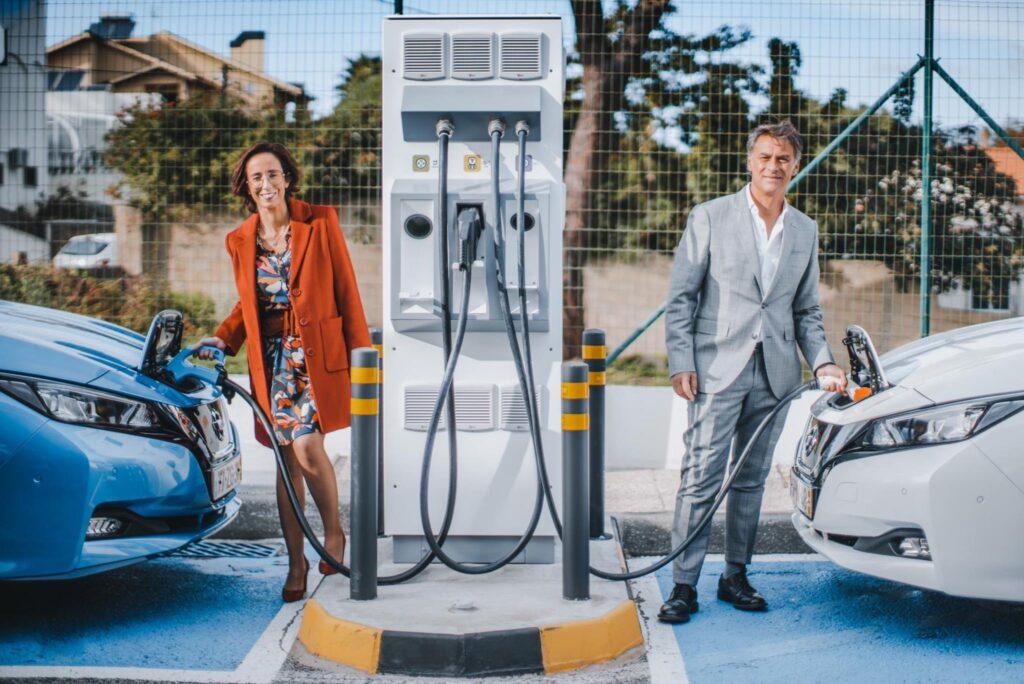 parceria entre a Galp e a Nissan 1