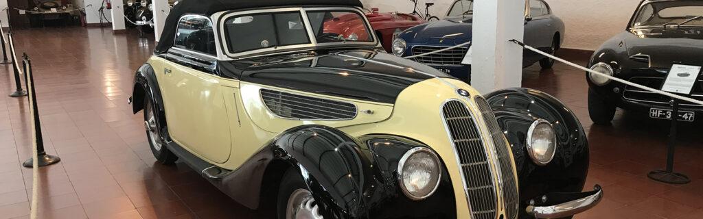 BMW 327 Cabrio no Museu do Caramulo 1