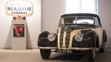 BMW 327 Cabrio no Museu do Caramulo 3