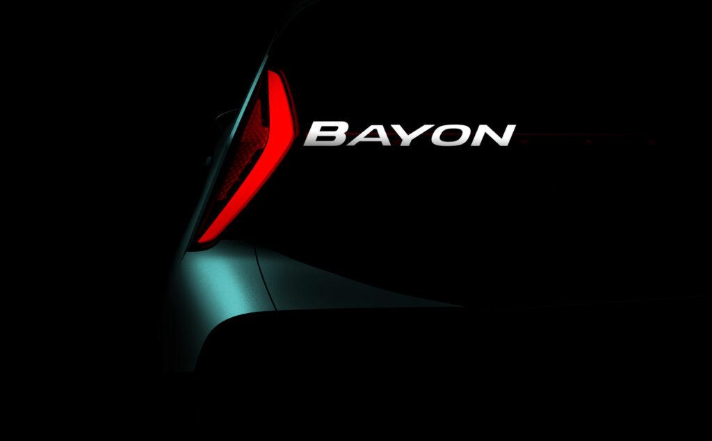 Hyundai Bayon a entrada na gama SUV 1