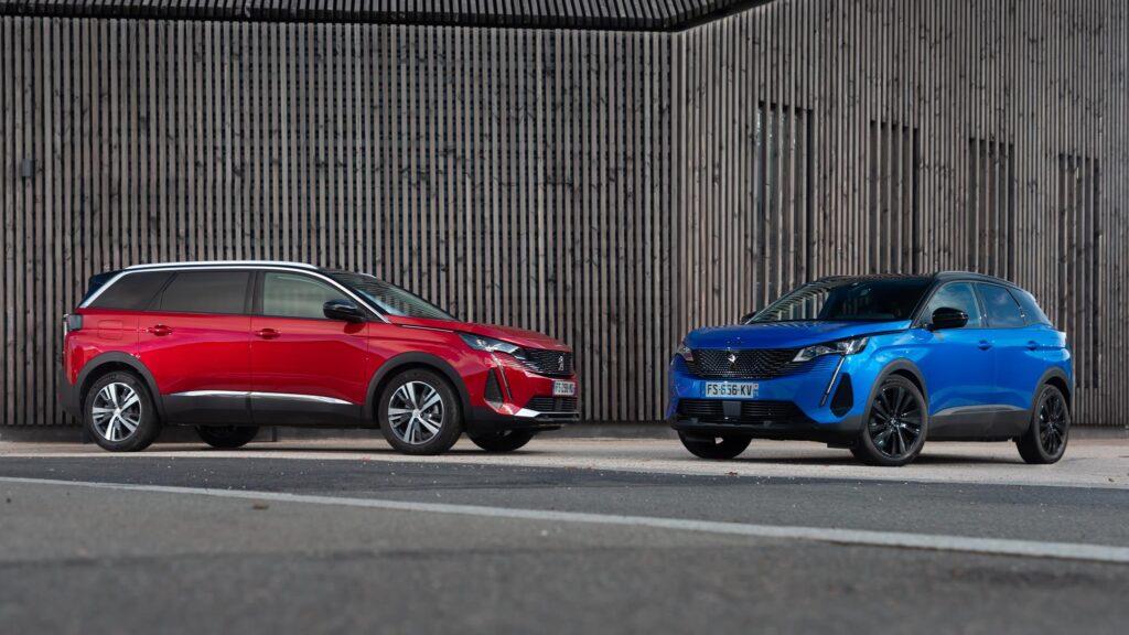 Peugeot 3008 e Peugeot 5008