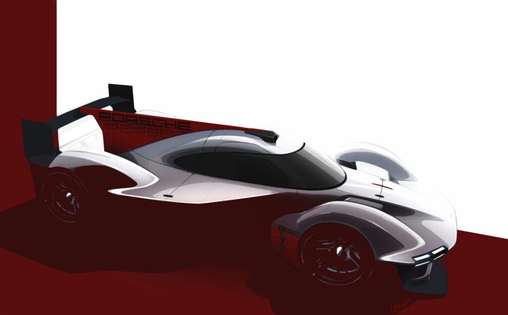 Porsche LMDh 2023 2