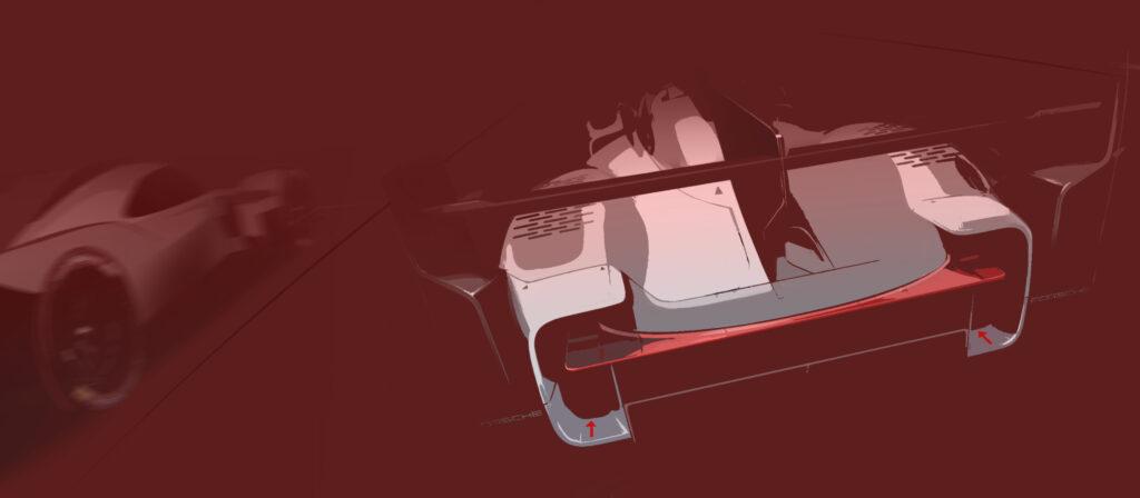 Porsche LMDh 2023 3