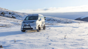 Nissan e NV200 Winter Camper 2