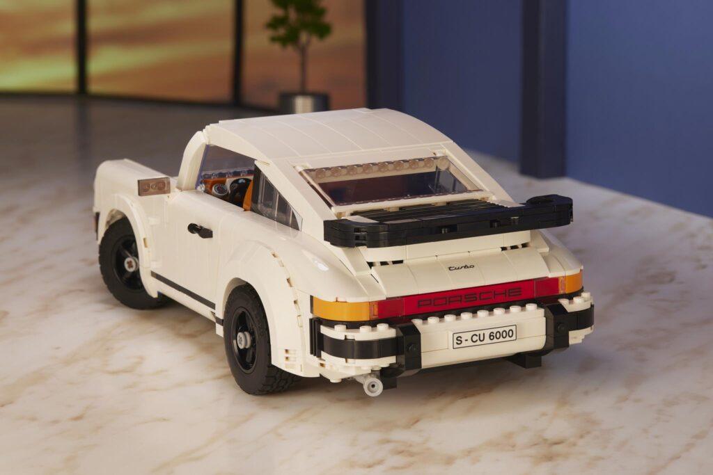 LEGO Porsche 911 TURBO DETAIL SPOILER