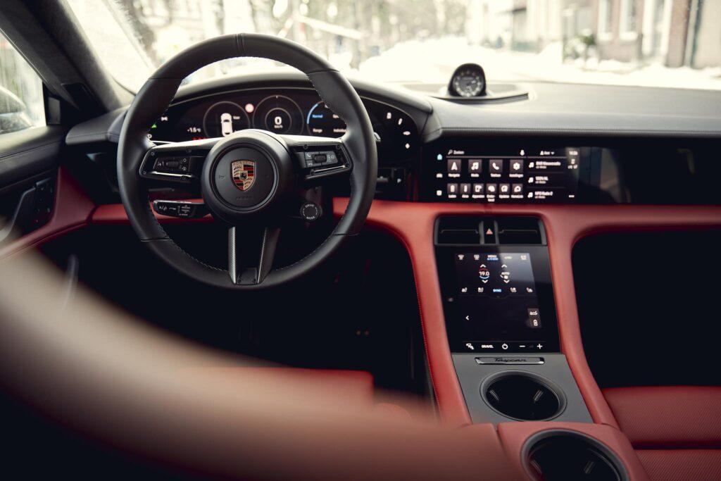 Porsche Taycan Cross Turismo interior 1