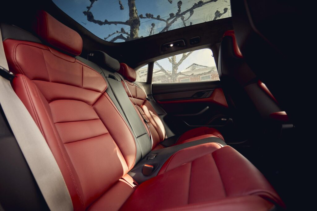 Porsche Taycan Cross Turismo interior 3