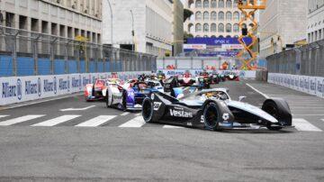 Roma E Prix Fórmula E 10