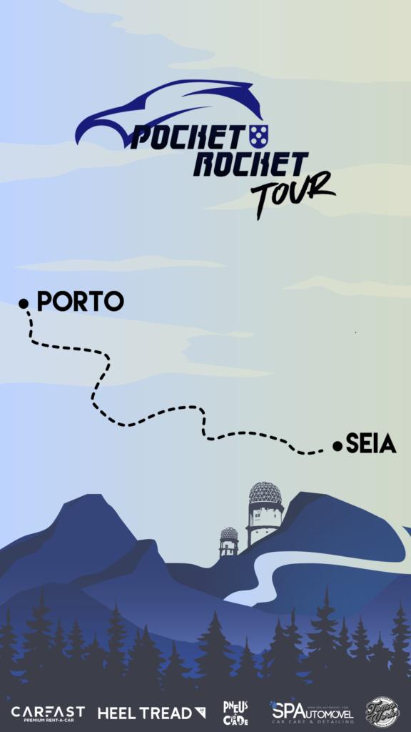 Pocket Rocket Tour Percurso