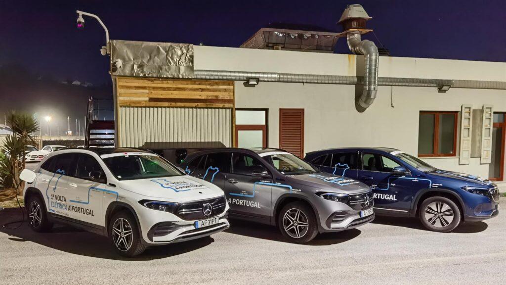 Volta Elétrica a Portugal EQA Mercedes EQ Lounge 1