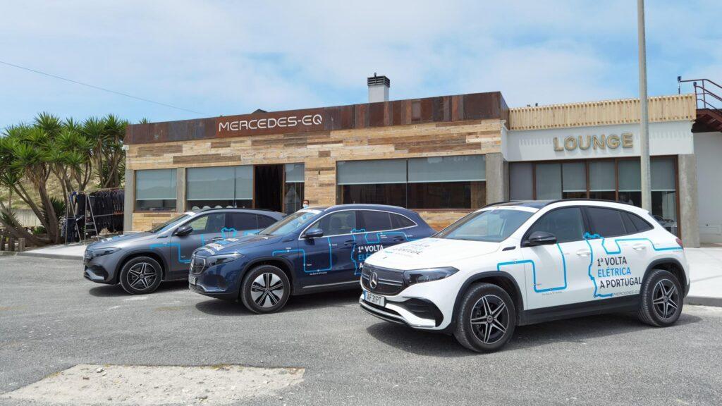 Volta Elétrica a Portugal EQA Mercedes EQ Lounge 2