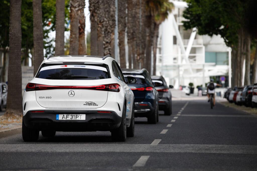 Volta Elétrica a Portugal Mercedes EQA 100