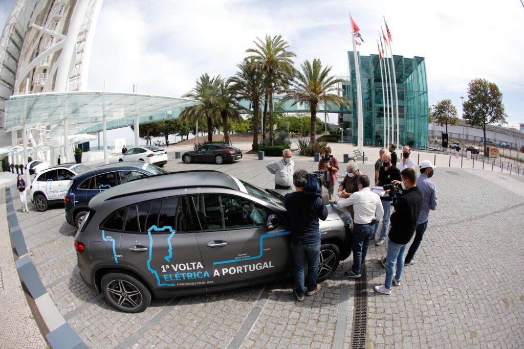 Volta Elétrica a Portugal Mercedes EQA 102