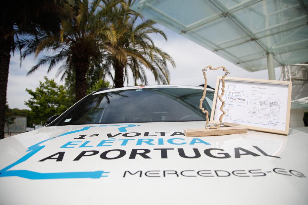 Volta Elétrica a Portugal Mercedes EQA 104