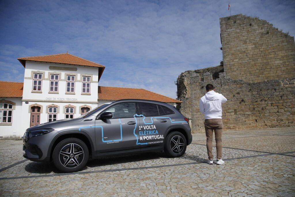 Volta Elétrica a Portugal Mercedes EQA 11
