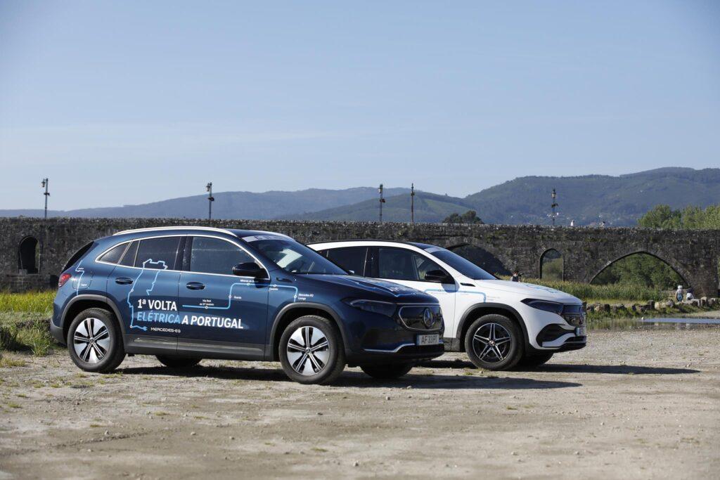 Volta Elétrica a Portugal Mercedes EQA 12