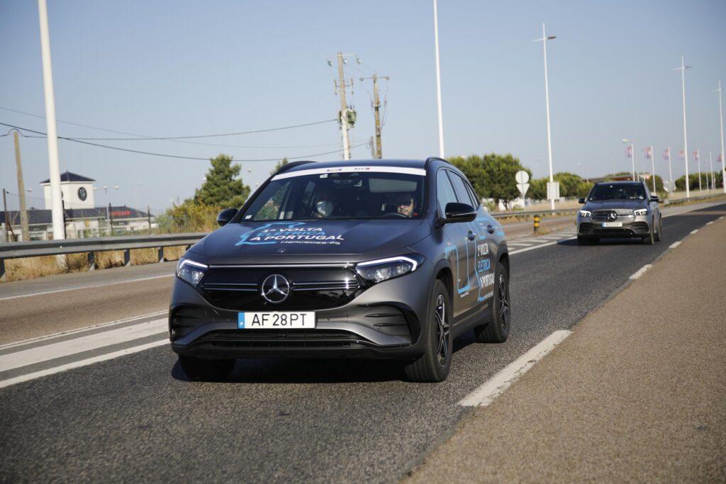 Volta Elétrica a Portugal Mercedes EQA 4
