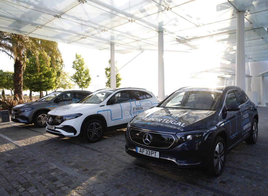 Volta Elétrica a Portugal Mercedes EQA 54