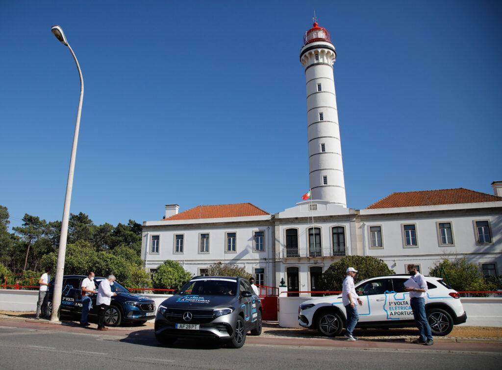 Volta Elétrica a Portugal Mercedes EQA 62