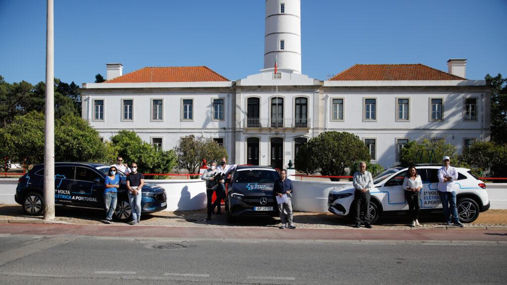 Volta Elétrica a Portugal Mercedes EQA 63