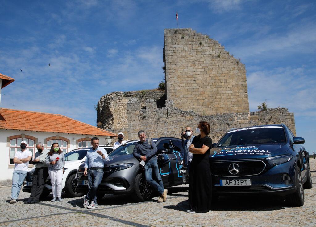 Volta Elétrica a Portugal Mercedes EQA 70