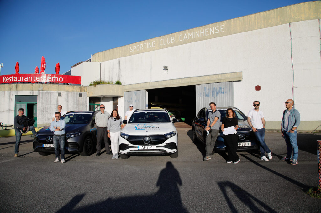 Volta Elétrica a Portugal Mercedes EQA 79