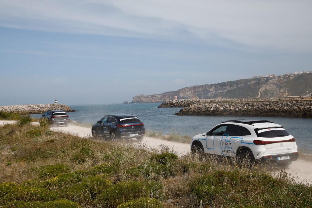 Volta Elétrica a Portugal Mercedes EQA 87