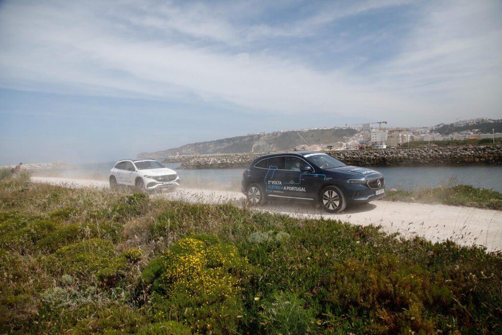 Volta Elétrica a Portugal Mercedes EQA 88