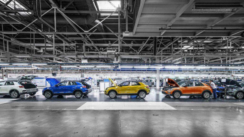 Autoeuropa linha montagem VW T Roc