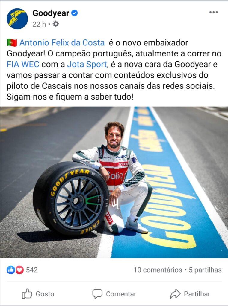 Goodyear Embaixador António Félix da Costa