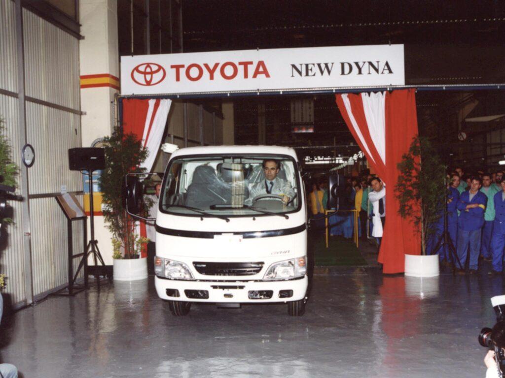 Producao Toyota Dyna Ovar