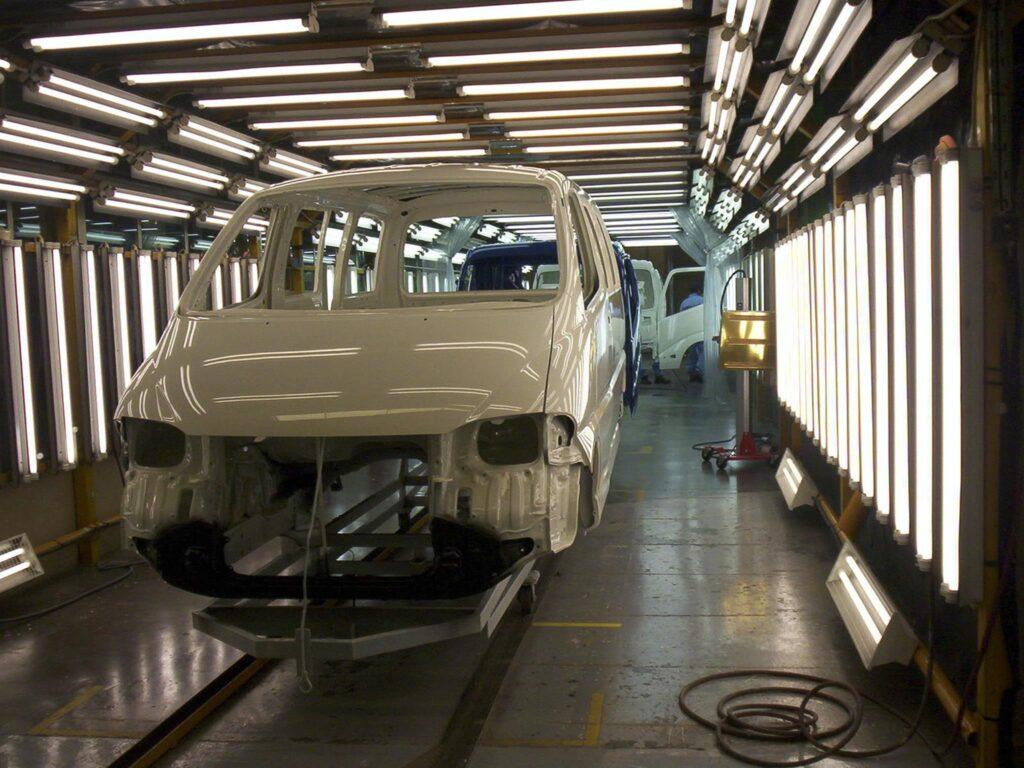 Producao Toyota Hiace Ovar