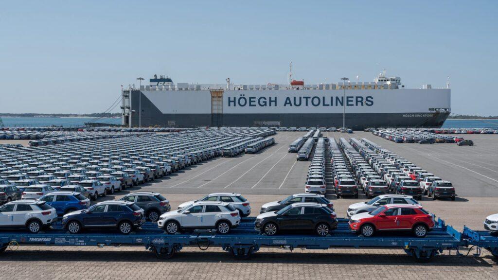 VW T Roc shipping