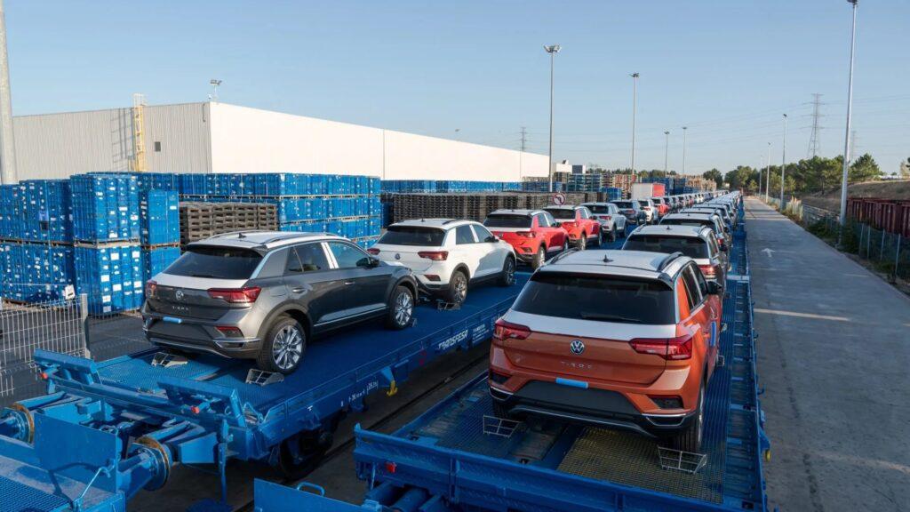 Volkswagen T Roc shipping
