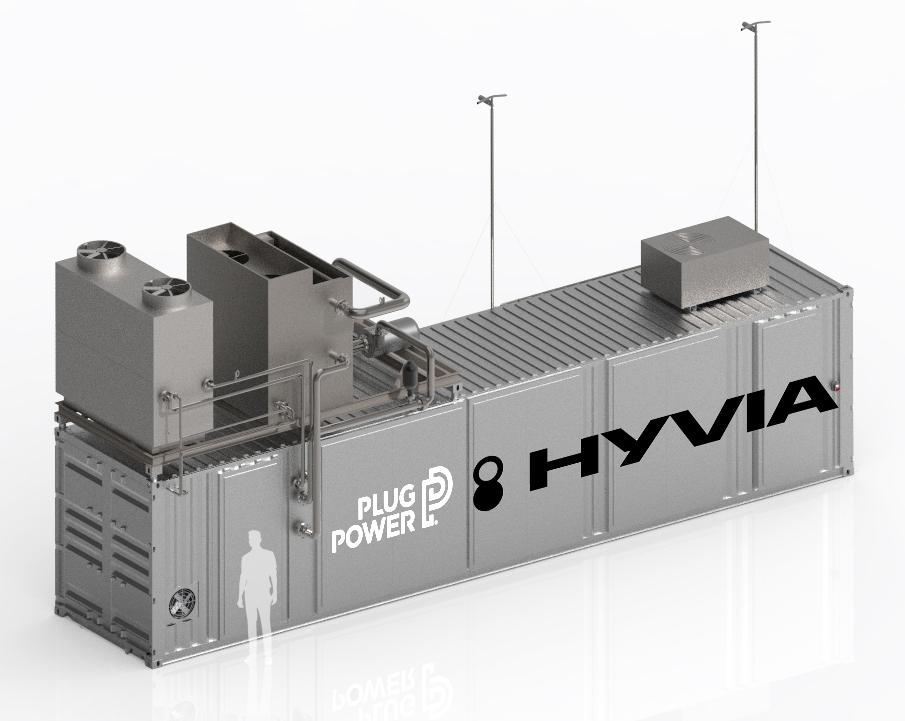 2021 HYVIA ELECTROLYZER