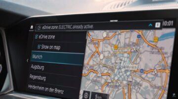 BMW eDriveZones