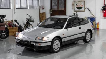 Honda CRX 1990 Garagisti 10