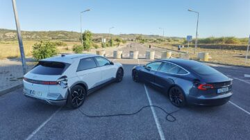 Tesla powered by Hyundai IONIQ 5 1
